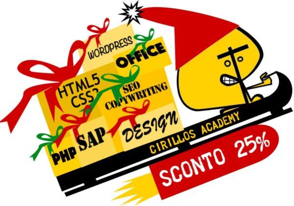cirillos academy offerta natale corsi web